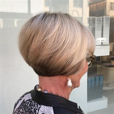 short haircuts for women over 60 stacked 60 best hairstyles and haircuts for women over 60 to suit