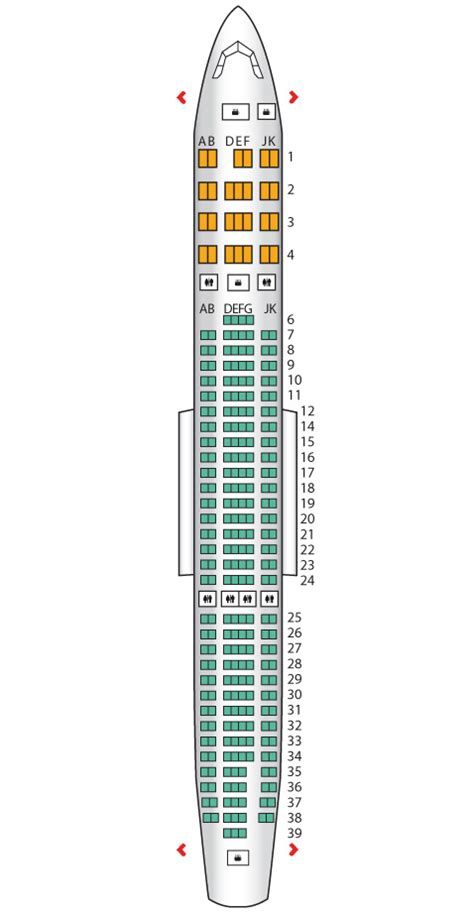 emirates seat map a330 200 two class emirates seat maps reviews