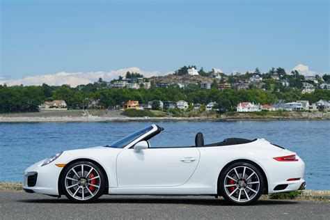 Porsche Carrera S Cabrio by 2017 Porsche 911 Carrera S Cabriolet For Sale Silver