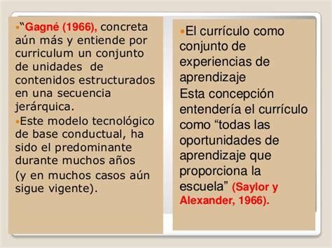 Modelo Curriculum Tecnologico El Curriculo Barrea