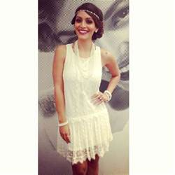 1920 Gatsby Style Theme Party Or Halloween Costume Frilly