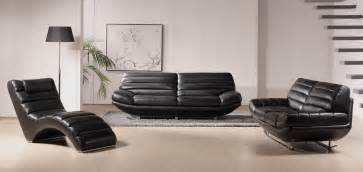 Modern black leather sofa set vg bo 3979 bk mybestfurniture com