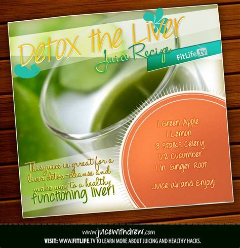 Does Detox Your by Detox The Liver Juice How Much Do You Your Liver