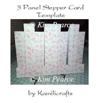 panel card templates 3 panel stepper card template 163 1 00 instant card