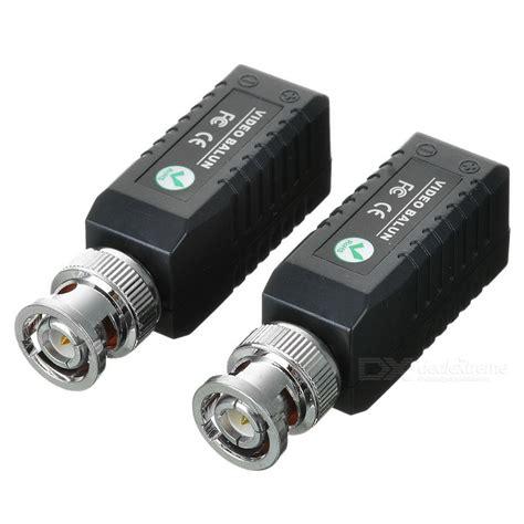 Cctv Via cctv via cat 5 twisted pair balun transceivers pair free shipping dealextreme