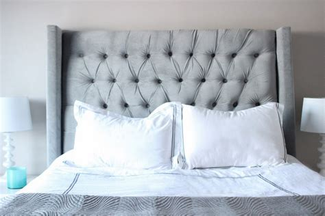 freestanding headboard adds modular style for every single