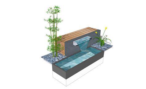 terrassengestaltung mit wasserbecken terrassengestaltung