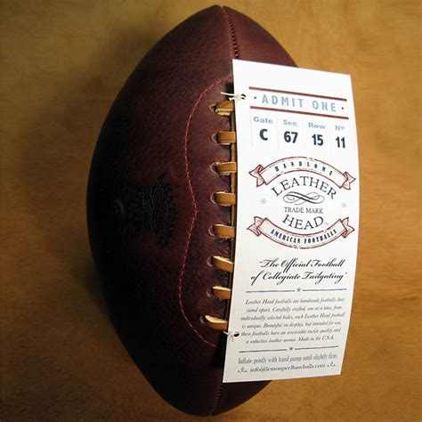 Handmade Leather Football - leather handmade footballs the green