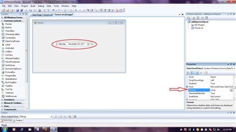 format datetimepicker troubleshoot it datetimepicker essentials in visual basic net