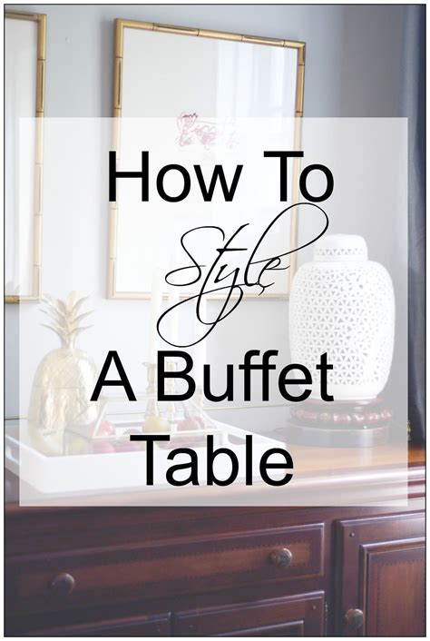 style  dining room buffet   pro dining