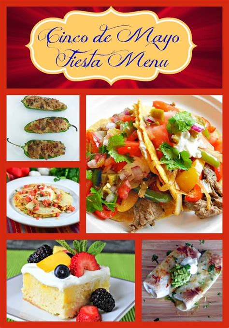 Come With Me Cinco De Mayo Menu by Cinco De Mayo Menu Flavor Mosaic