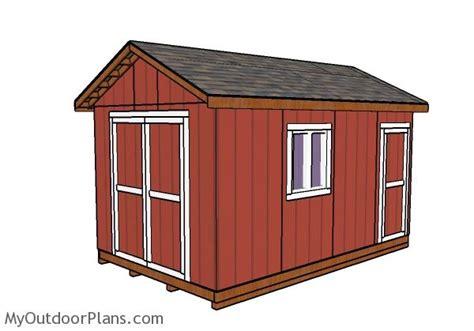 garden shed plans myoutdoorplans