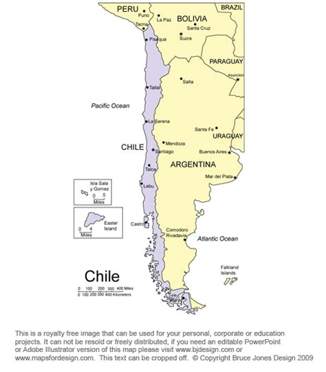 south america map chile map chile bordering countries