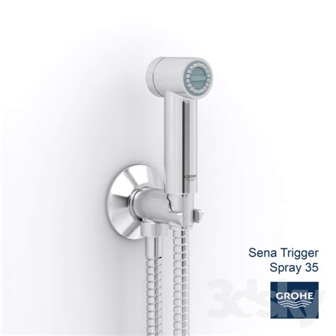 Grohe Trigger Spray Set 27513000 3d models faucet grohe trigger spray 35