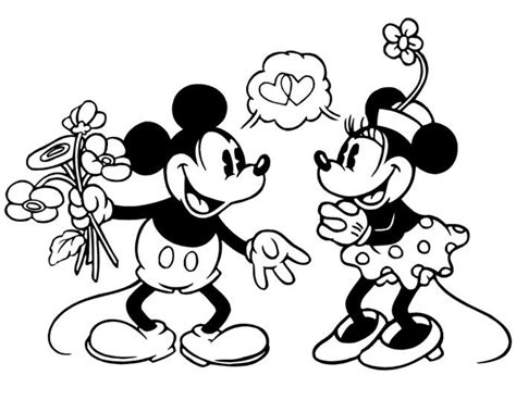 minnie mouse coloring pages simple 32 best mickey minnie images on pinterest coloring