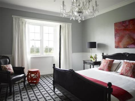 red accent wall in master bedroom inspiring ideas imaginative interior design victorian terrace refurb