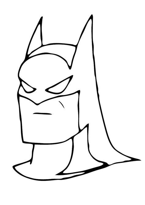 batman head coloring page batman head easy coloring pages