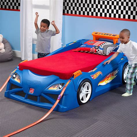 Toddler Race Car Bed Set by Step2 Wheels Toddler To Race Car Bed Bj S