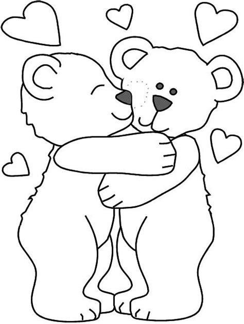bear hug coloring pages how to draw hug coloring