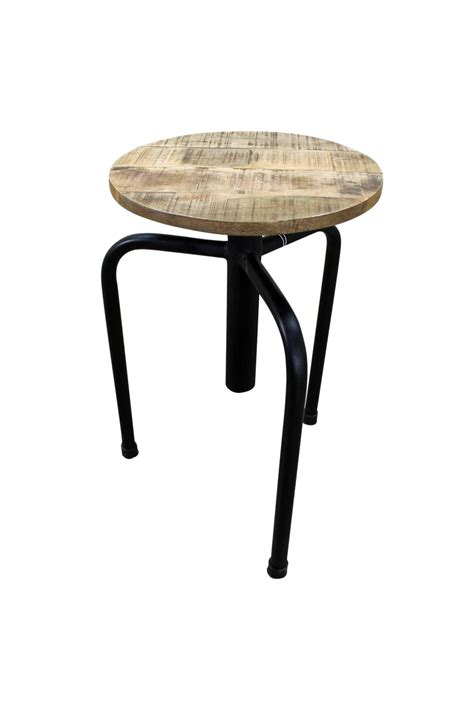 industrial style bar stools with back industrial style bar stool made of metal and hardwood seat