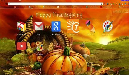 thanksgiving theme for google chrome 26 best thanksgiving graphics browser themes wallpaper