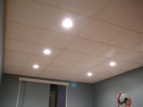 Installing Can Lights In Drop Ceiling Drop Ceiling Tiles 2x4 Image Robinson House Decor Installing Drop Ceiling Tiles 2 215 4