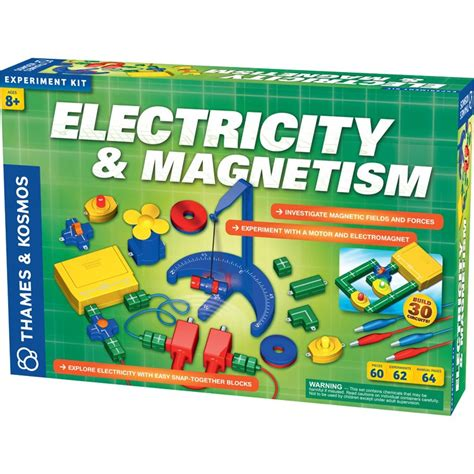 electricity learning electricity magnetism science kit educational toys planet