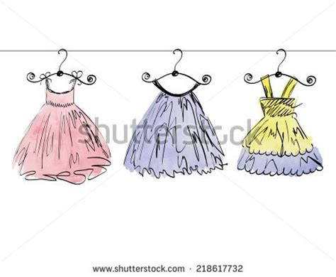 Dress Sketch Stock Images, Royalty Free Images & Vectors