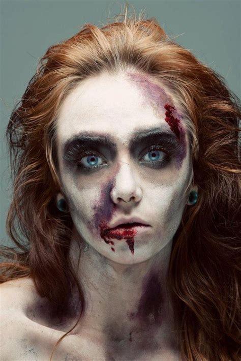 tutorial cara make up zombie maquillaje para zombies