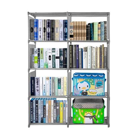 Rak Buku Rak Buku 3 Sisi Rak Buku Serbaguna Rak Portable jual godric rak buku portable lemari serbaguna 2