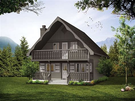 Mountain Chalet Home Plans by Plan 032h 0008 Find Unique House Plans Home Plans And