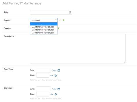 django tutorial foreign key python django admin form field instead of object in