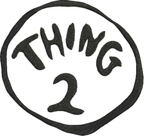 thing 1 and thing 2 card templates dr seuss thing 2 embroidery design 5x7 bernina