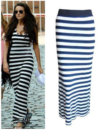 Stripe Casual Maxi 8435 74 blue and white striped maxi dress all dress