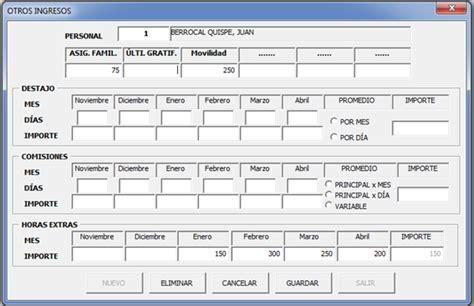 calculo de cts semestral en excel archivo excel calculo de cts en excel archivo excel