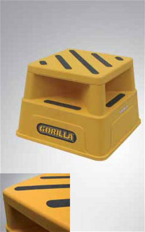 safety step stool australia gorilla safety step industrial 150 kg step stools