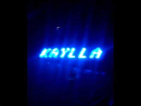 membuat nama dengan lu led membuat papan nama berjalan menggunakan led 3mm youtube