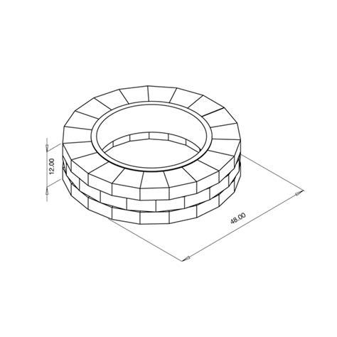 pit diameter rings pits basalite