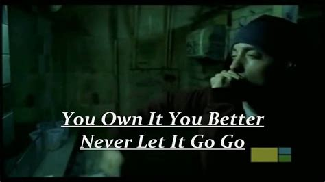 eminem lose yourself lyrics eminem lose yourself with lyrics and official video hd