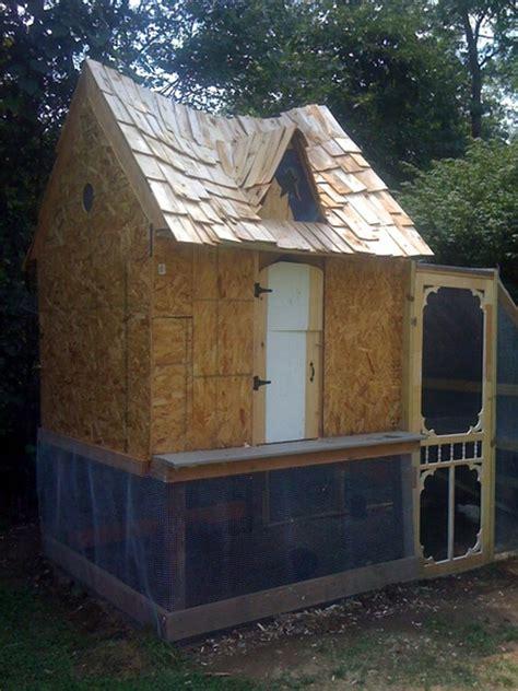 diy fairytale cottage chicken coop home design garden