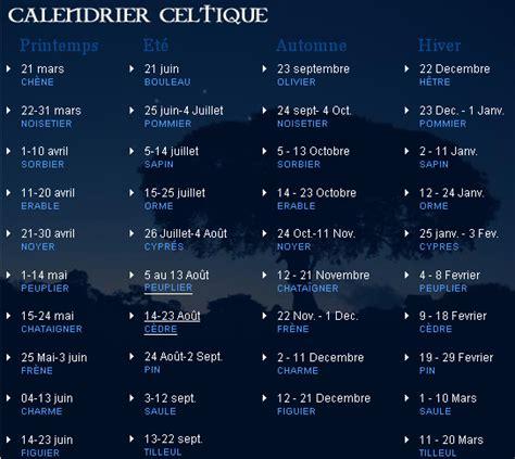 Astrologie Calendrier Mon Arbre 206 Le De Vivre Le Douaire Calendrier