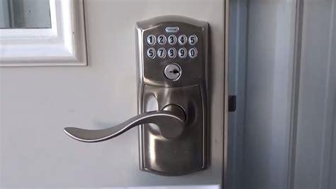 How To Change The Front Door Lock Guide Schlage Locks How To Change The Lock Code