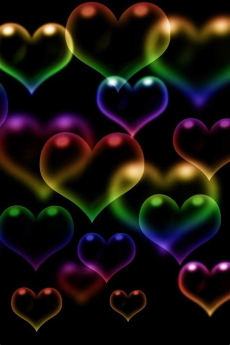 wallpaper for mobile colorful love free wallpaper dekstop animated iphone wallpaper