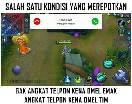 apa itu mobile legend 8 gambar meme mobile legends lucu tentang kejadian yang