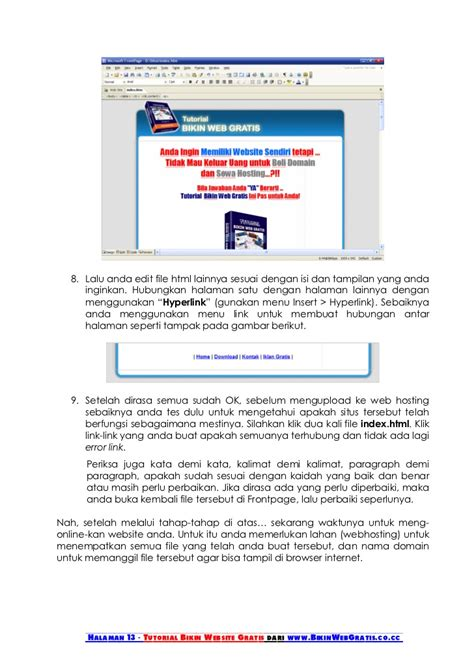 tutorial membuat web hosting tutorial membuat website