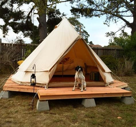 tent platform decks backyards and cabin on pinterest
