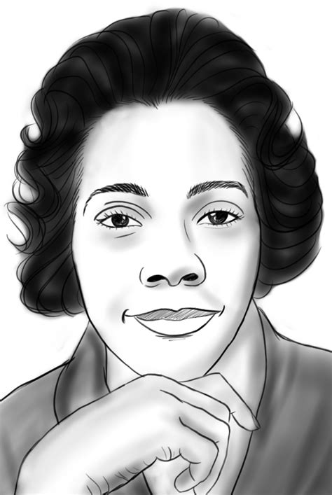 coloring pages of coretta scott king gossipi s animation more famous african american sketches