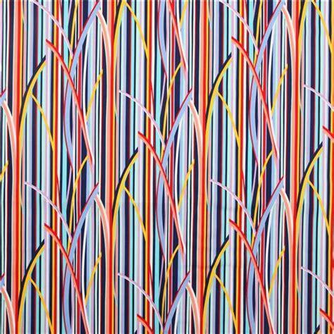 stripe pattern en español colourful stripes reed pattern fabric blue by michael