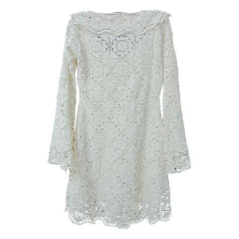 Pattern White Blouse | white crochet lace pattern long sleeve blouse buy long