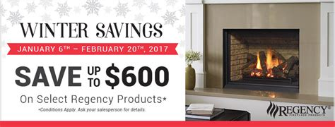 Fireplace Products Promo Code by Regency Promo Winter 2017 Fireplace Depot